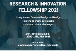 RESEARCH AND INNOVATION FELLOWSHIP 2021