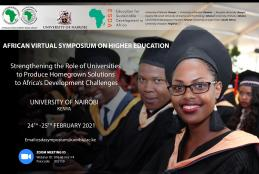 AFRICAN SYMPOSIUM ON HIGHER EDUCATION